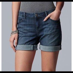 Vera wang  Jean shorts